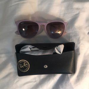 Accessories - Purple Ray Ban Glasses